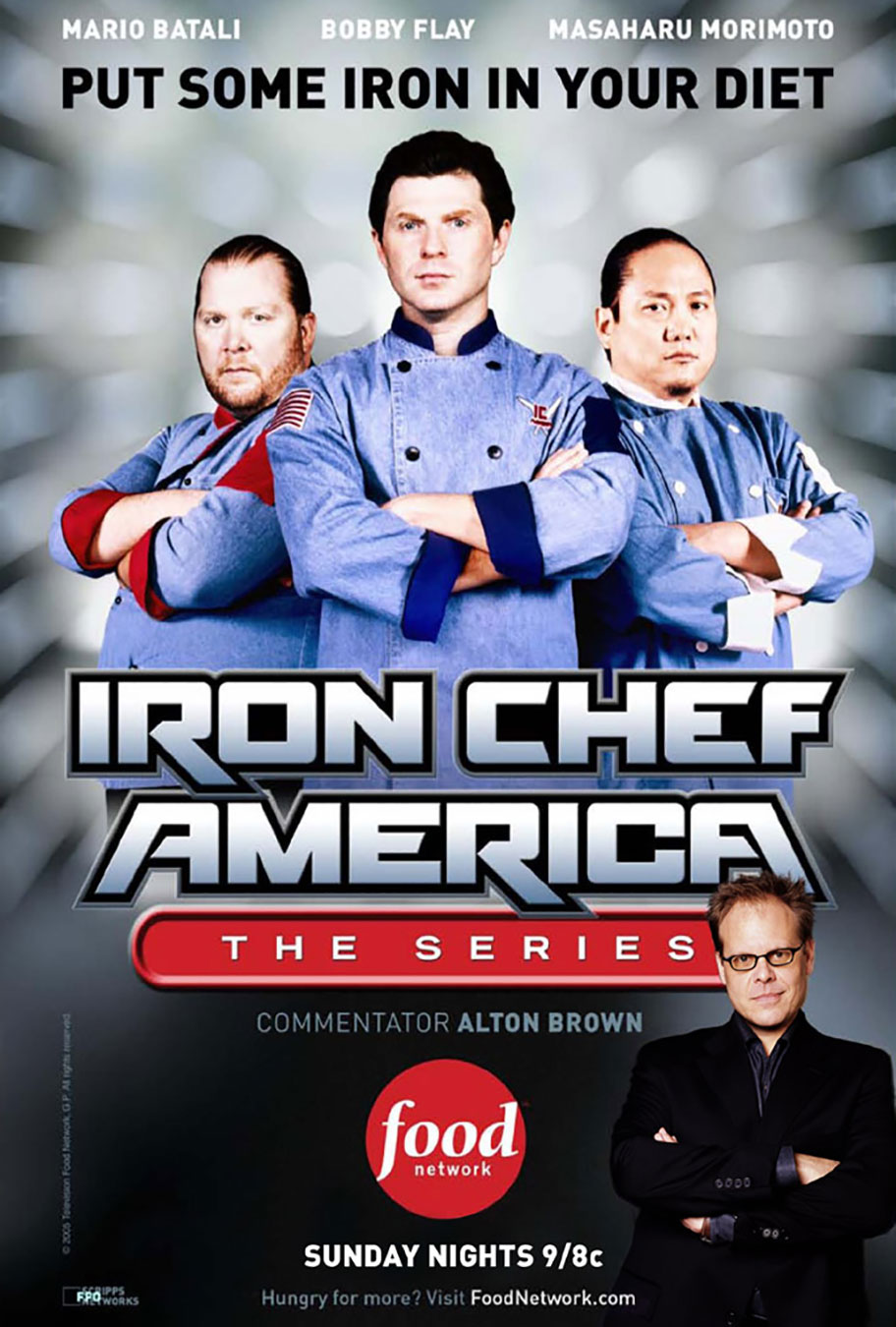 Iron chef america craig marks for Allez cuisine iron chef